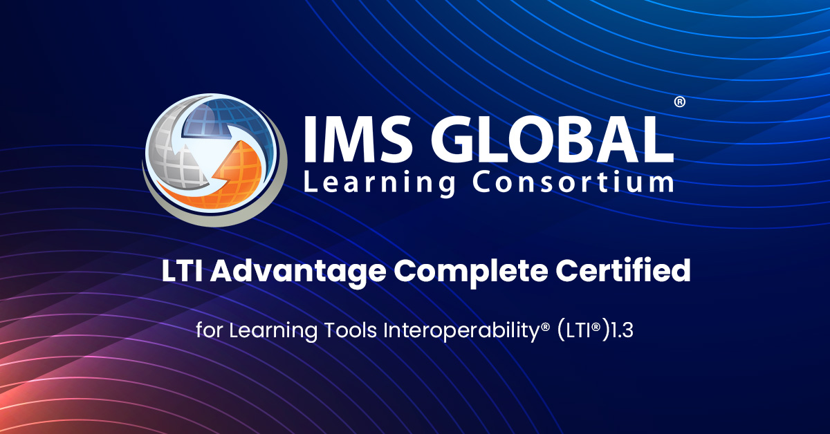 IMS Global LTI Advantage Complete Certified